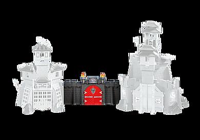 6351 Pared de conexión para los Castillos del dragón Asiáticos