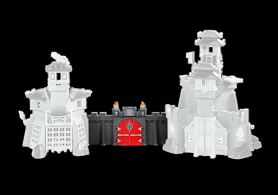 6351 Uitbreidingsmuur voor het Drakenkasteel en Drakenburcht  detail image 1