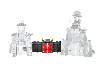 6351 Verbindungsmauer Asia-Drachenburgen