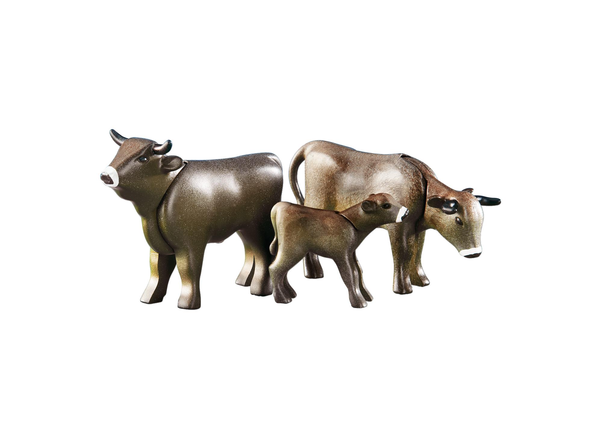 2 cows with calf 6357 playmobil usa