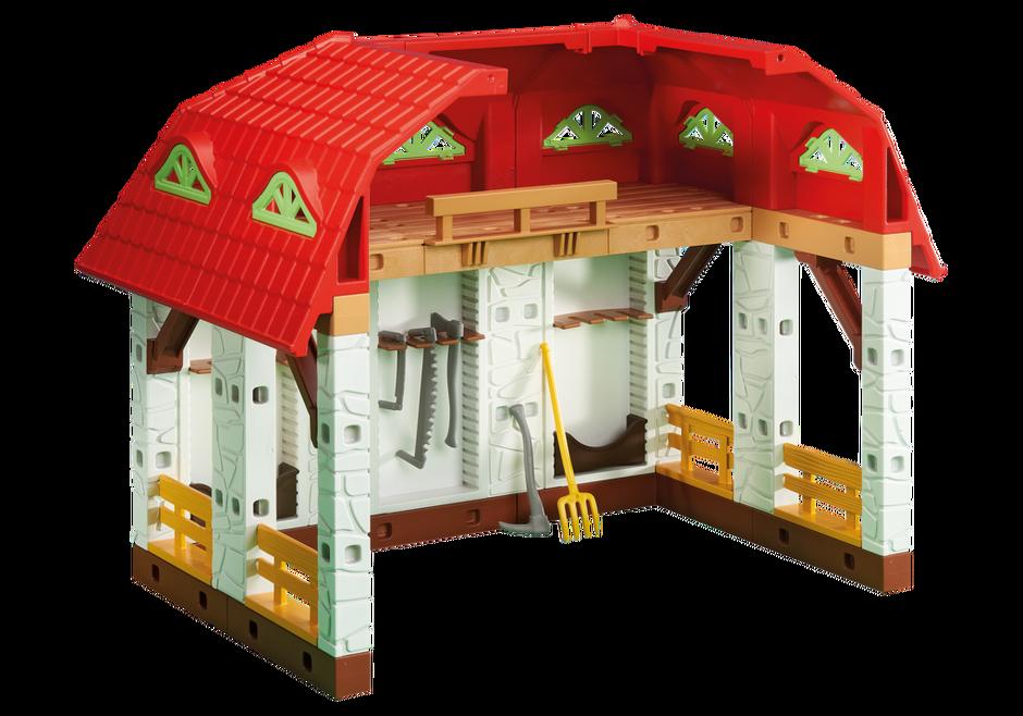 b timent d 39 extension pour la grande ferme 6368. Black Bedroom Furniture Sets. Home Design Ideas