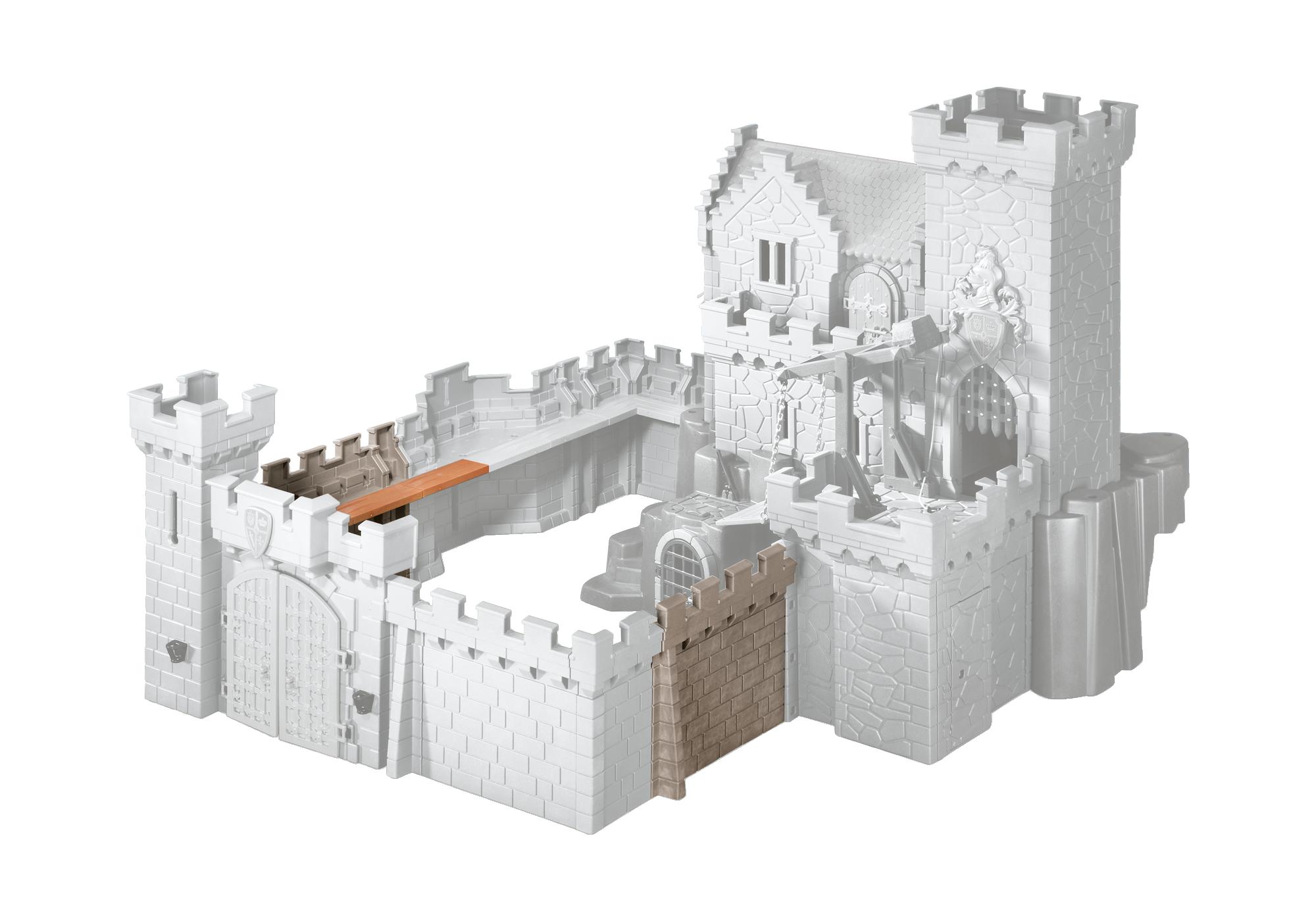 http://media.playmobil.com/i/playmobil/6371_product_detail/Extensão de parede para o Castelo dos Cavaleiros do Leão Real e o Castelo dos Cavaleiros do Falcão