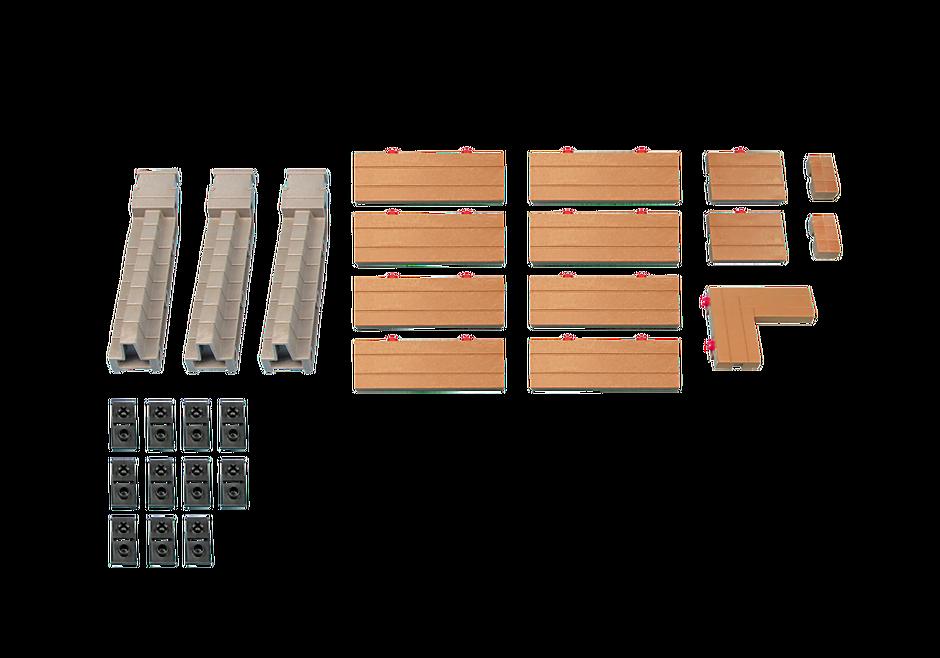 6372 Muuraansluiting voor art 6000 en 6001 in de Knights speelwereld  detail image 1