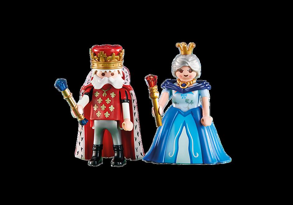 6378 Dronning og konge detail image 1