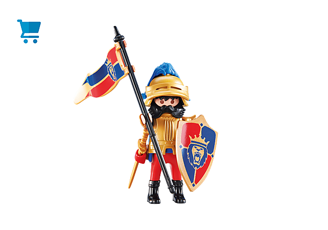 6380_product_detail/Przywódca rycerzy herbu Lew
