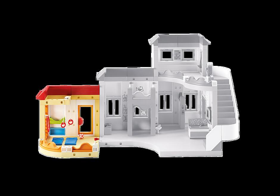 http://media.playmobil.com/i/playmobil/6386_product_detail/Uitbreiding turnzaal voor Kinderdagverblijf