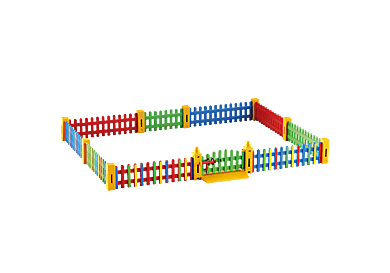 6387 Fence extension for Sunshine Preschool