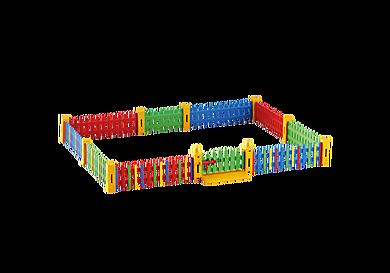 6387 Kerítés bővítmény napközihez