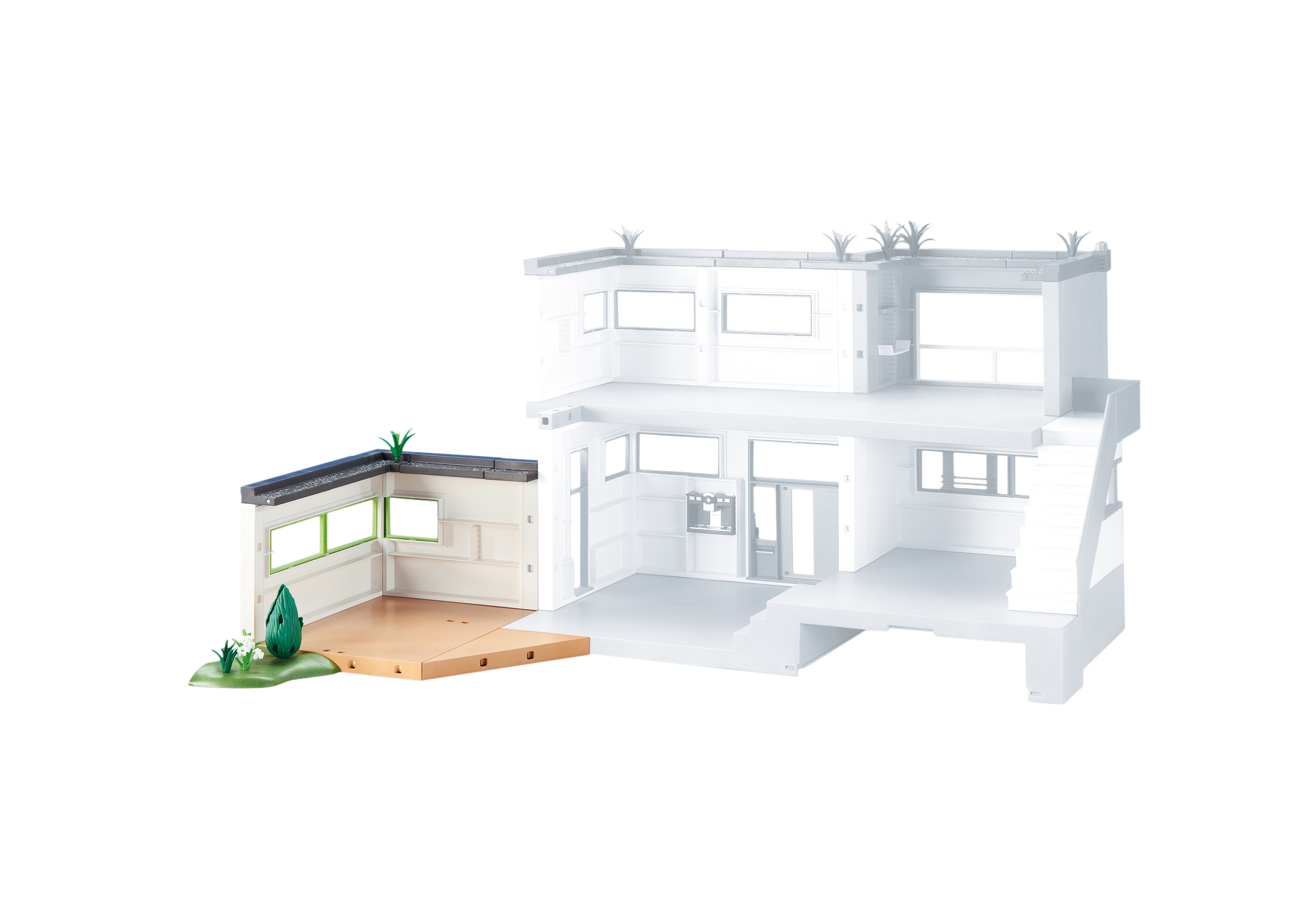 Erweiterung für die Moderne Luxusvilla