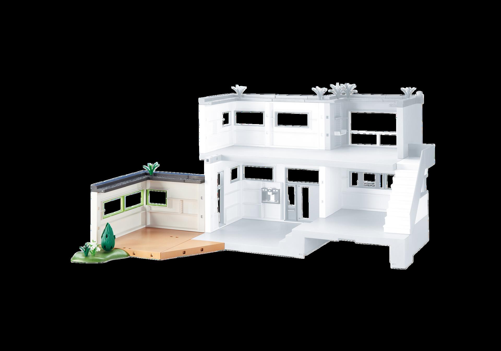 Extensi n para mansi n moderna de lujo 6389 playmobil for Casa moderna de lujo playmobil