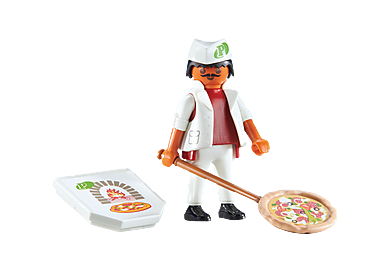 6392 Kucharz w pizzerii