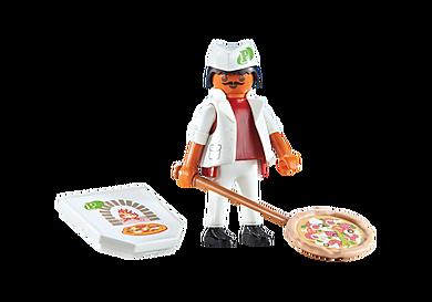 6392 Pizzaiolo avec pizza