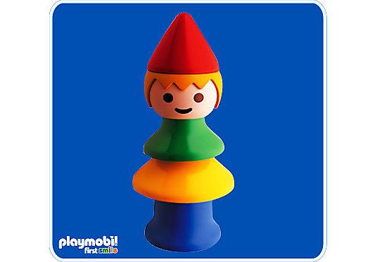 6401-A Clown Pyramide detail image 1