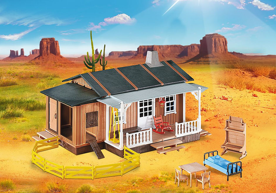 6410 Large Western Cabin detail image 1