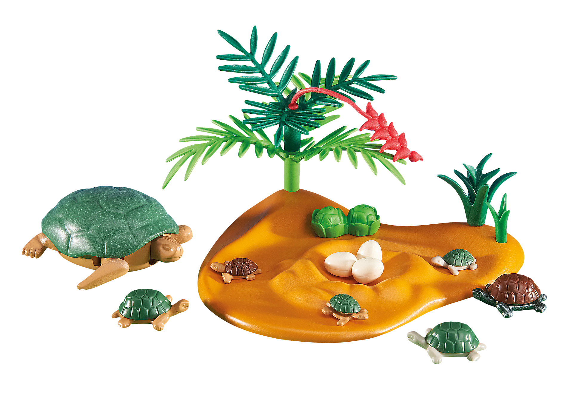 6420 Schildkröte mit Babys zoom image1