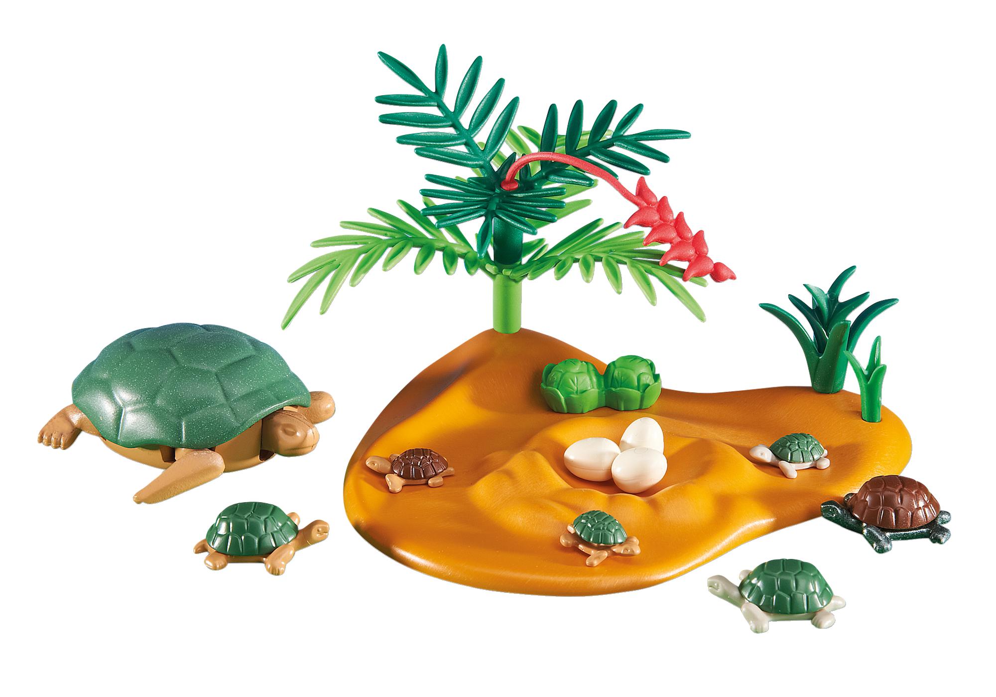 6420_product_detail/Schildkröte mit Babys