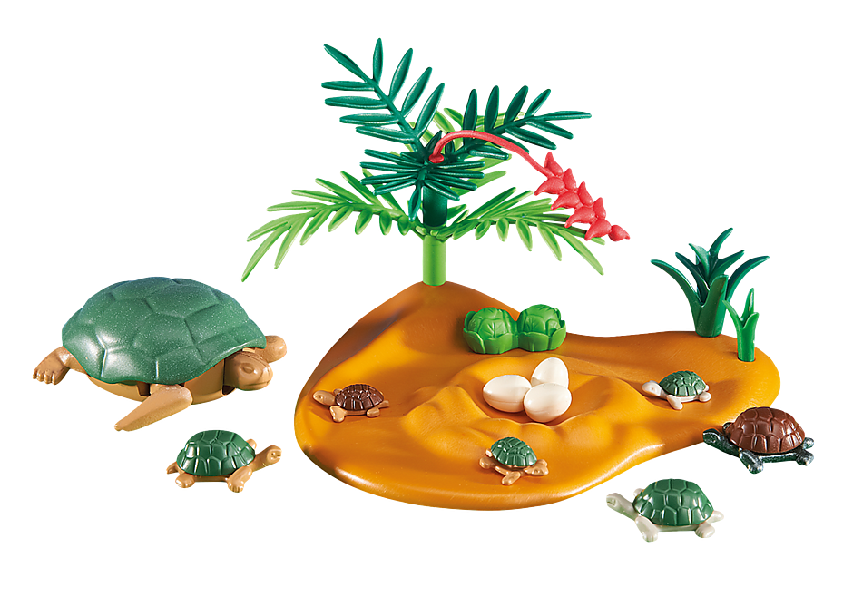 6420 Skildpadde med unger detail image 1