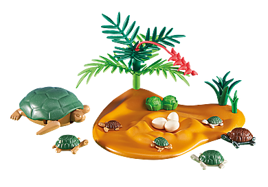 6420 Turtle with Babies