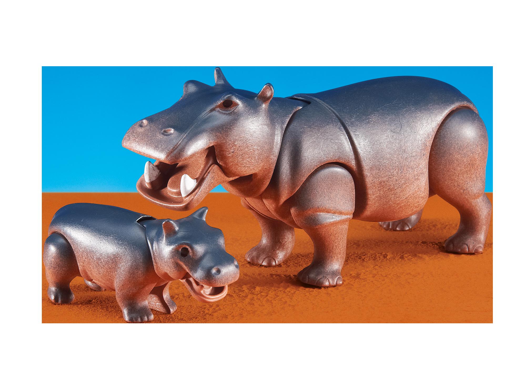 6421_product_detail/Hipopótamo com Cria