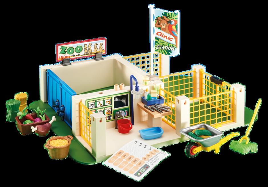 Zoo Care Station 6425 Playmobil Usa