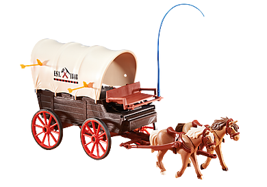 6426 Κάρο μεταφοράς με δύο άλογα