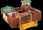 Großes Western-Fort