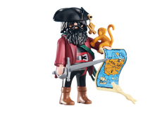 Playmobil Pirate Captain With Map 6433