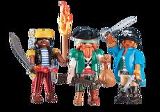 Playmobil 3 Pirate Mates 6434