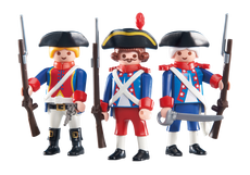 Playmobil 3 French Soldiers 6436