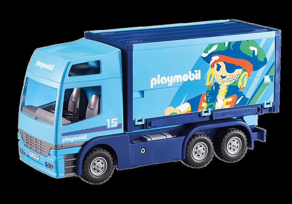 6437 PLAYMOBIL-vrachtwagen detail image 1
