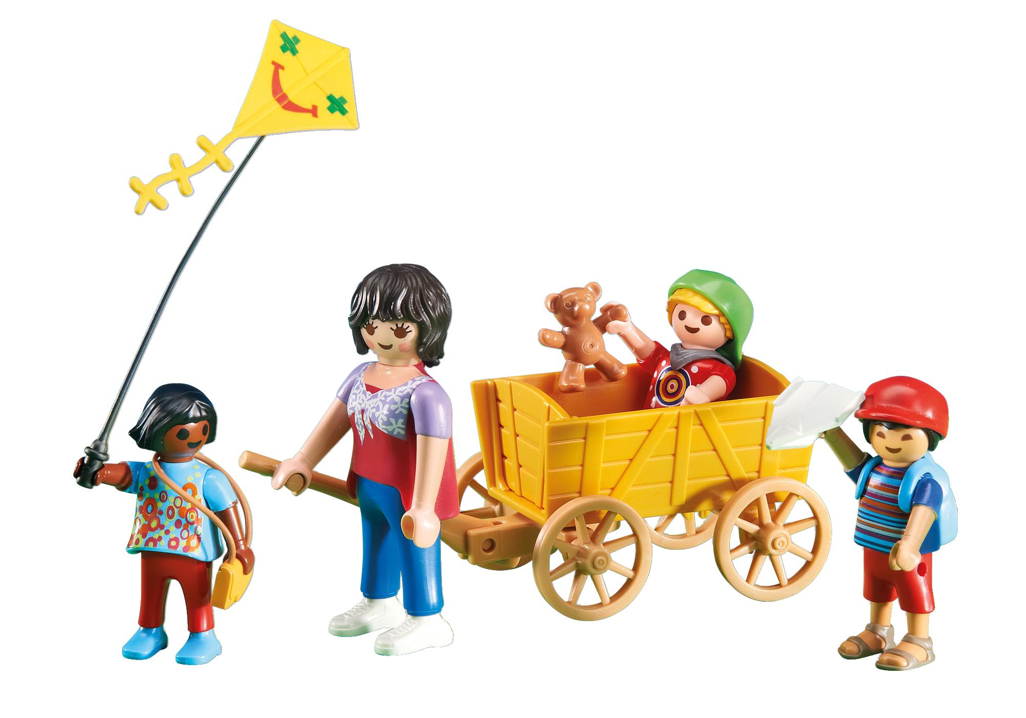 6439_product_detail/Δασκάλα με παιδάκια και καροτσάκι