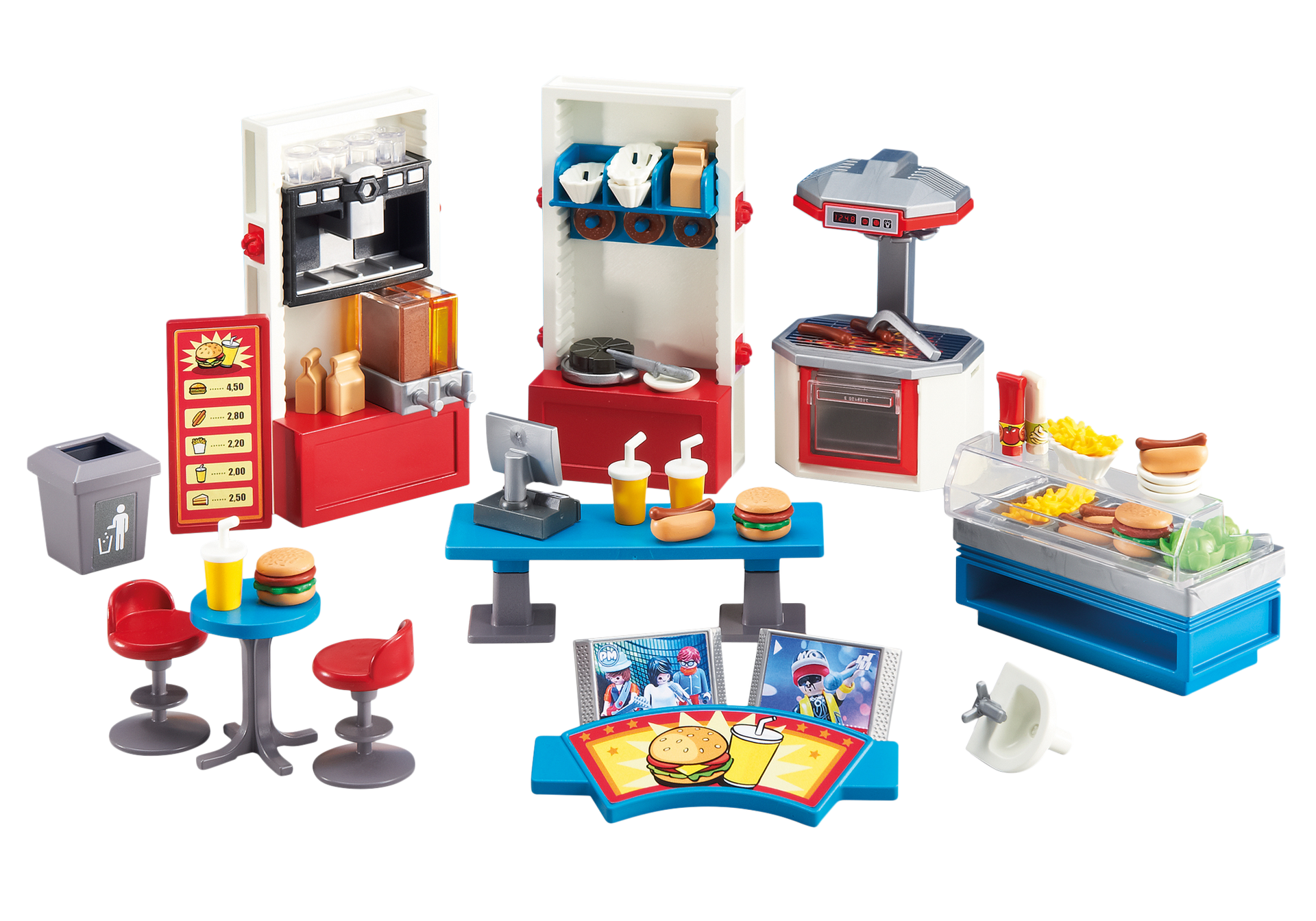 am nagement pour restaurant 6441 playmobil france. Black Bedroom Furniture Sets. Home Design Ideas