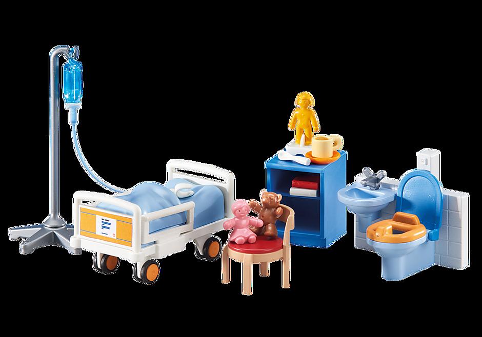 http://media.playmobil.com/i/playmobil/6444_product_detail/Παιδικό δωμάτιο νοσοκομείου