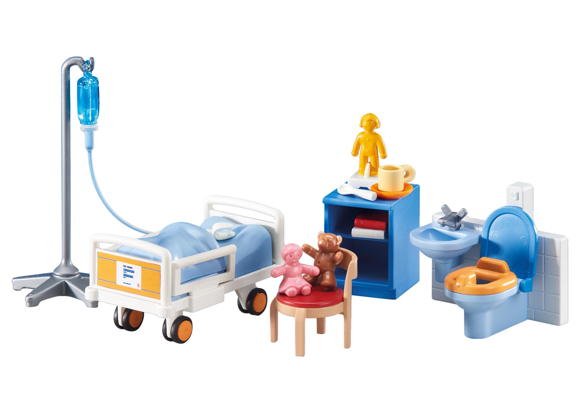 http://media.playmobil.com/i/playmobil/6444_product_detail/Aménagement pour chambre d'hôpital