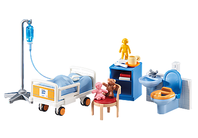 6444 Habitación de Hospital para niños