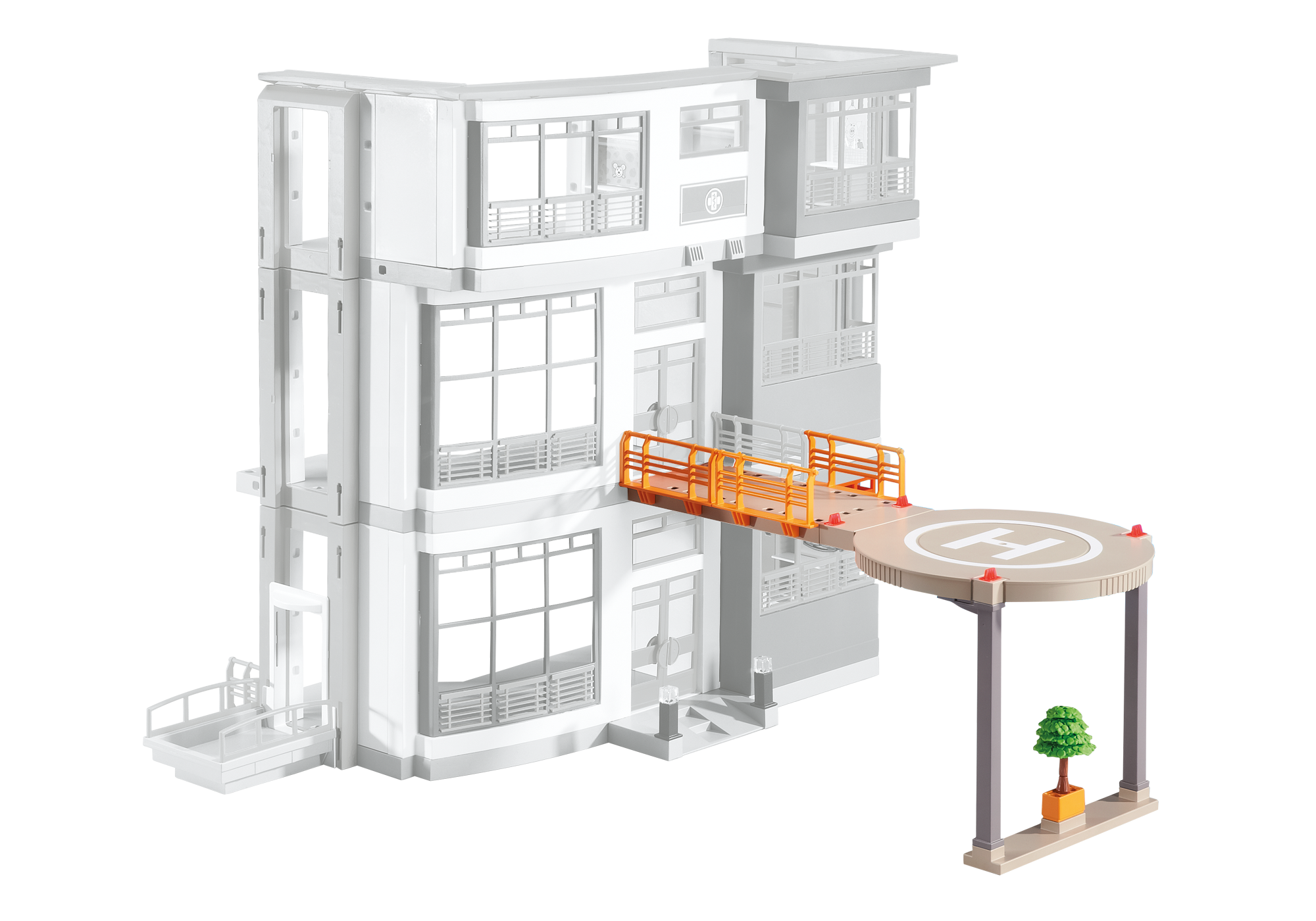 http://media.playmobil.com/i/playmobil/6445_product_detail/Helipad for Furnished Children's Hospital (6657)
