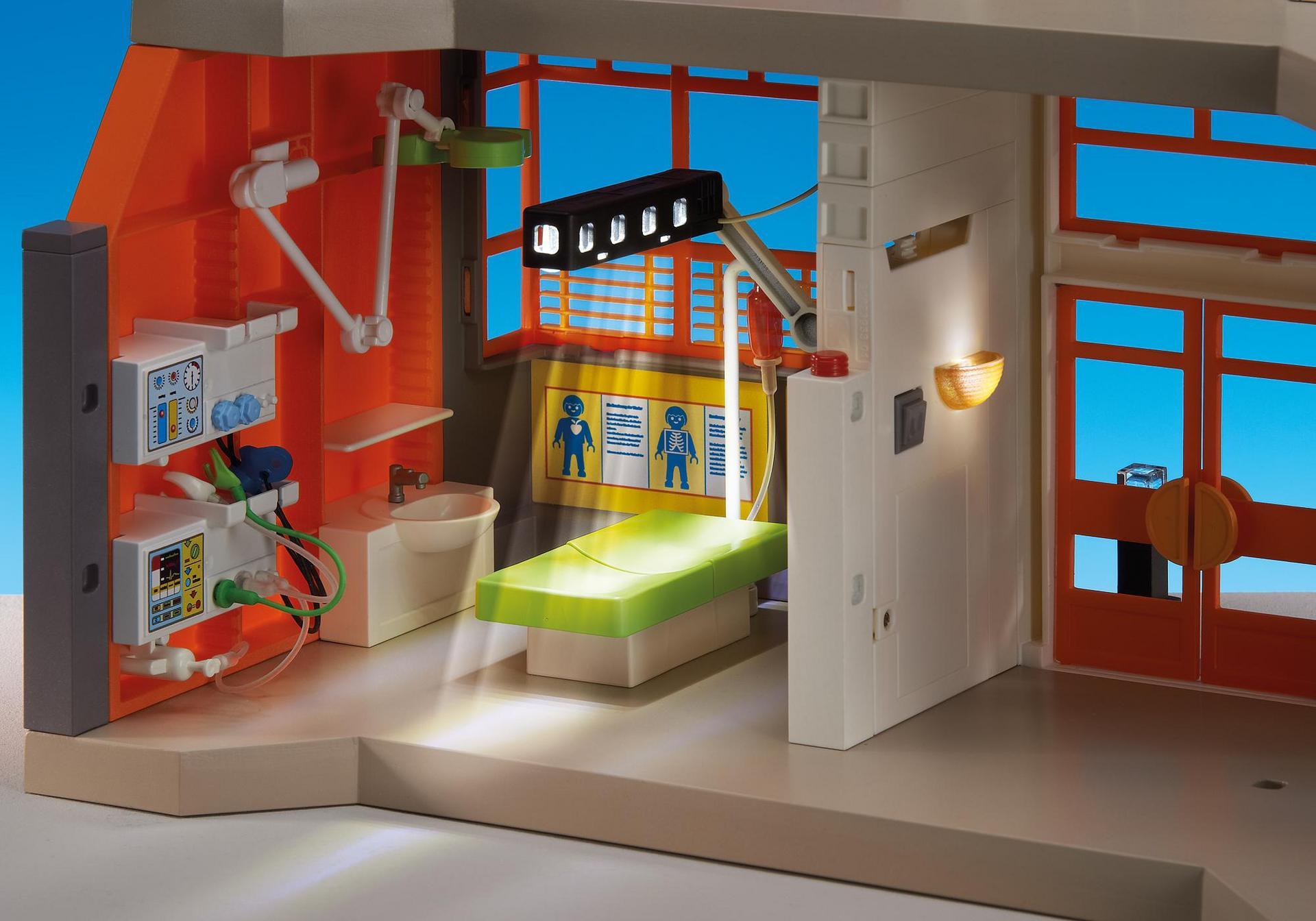 kit d 39 clairage pour h pital p diatrique 6446 playmobil france. Black Bedroom Furniture Sets. Home Design Ideas