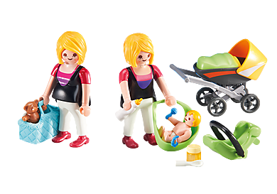 6447_product_detail/En gravid og mor med baby