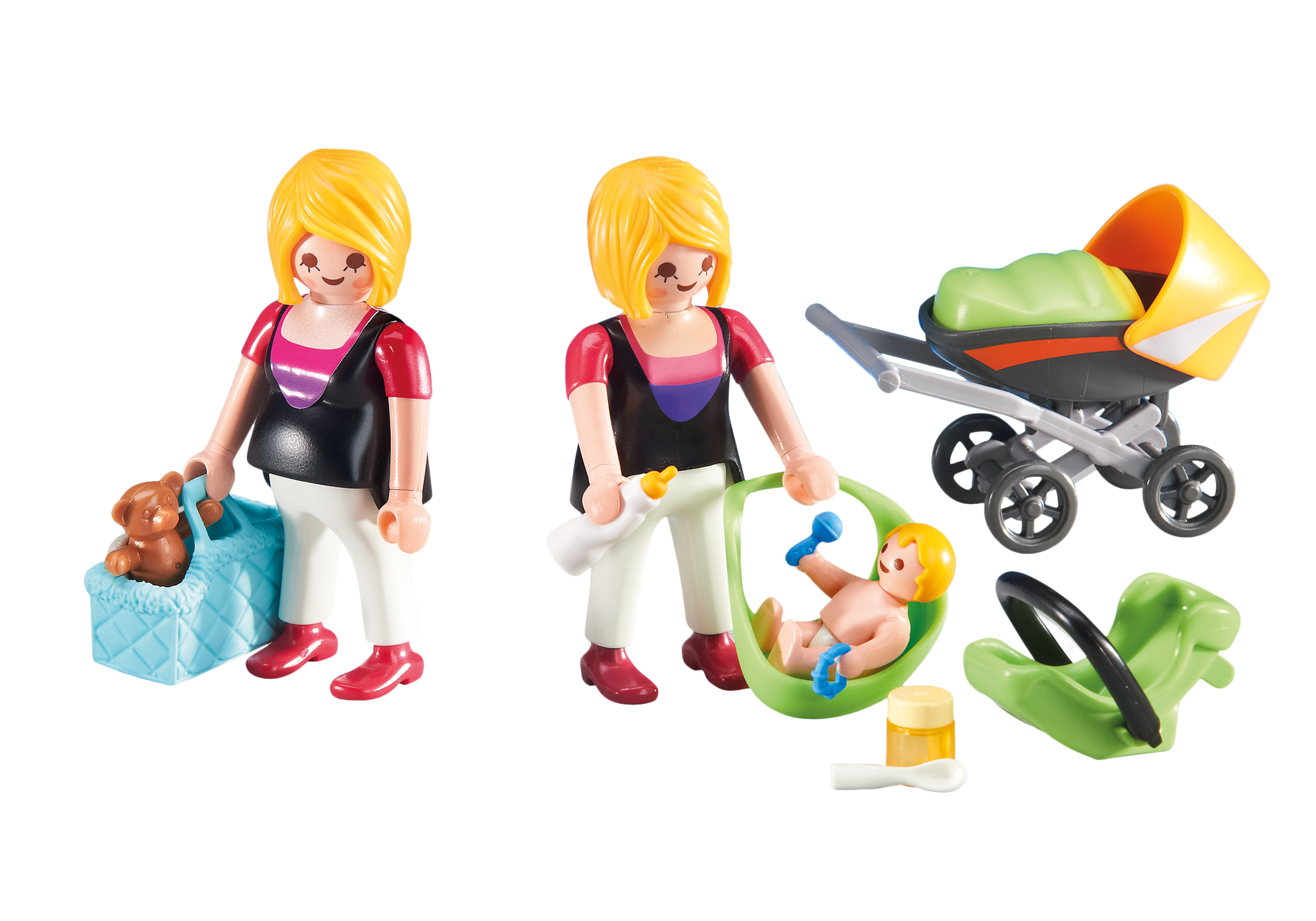 http://media.playmobil.com/i/playmobil/6447_product_detail/Gravid mamma och mamma med bebis