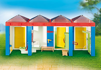 6450 Water Park Changing Room with Shower