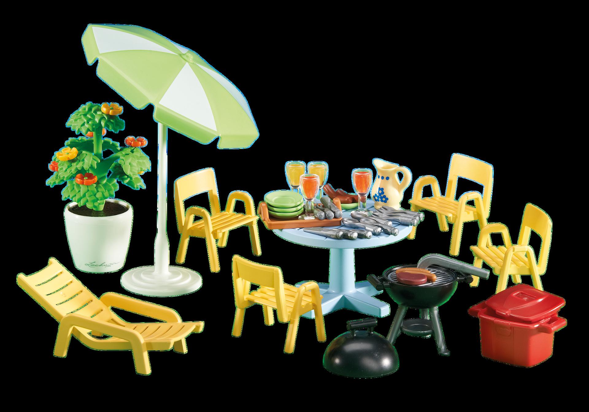 Mobiliario y accesorios de jard n 6451 playmobil espa a for Accesorios jardin