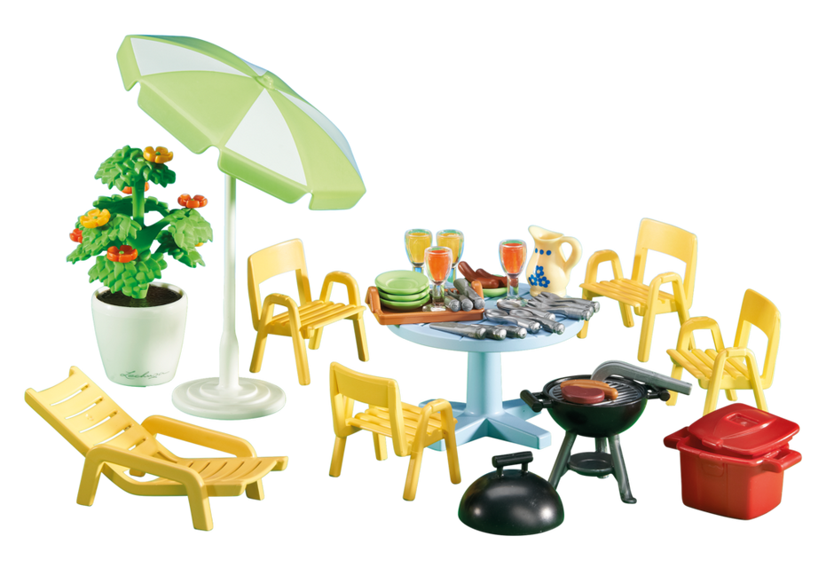 Am nagement pour jardin 6451 playmobil france - Bulgomme transparent pour table ...