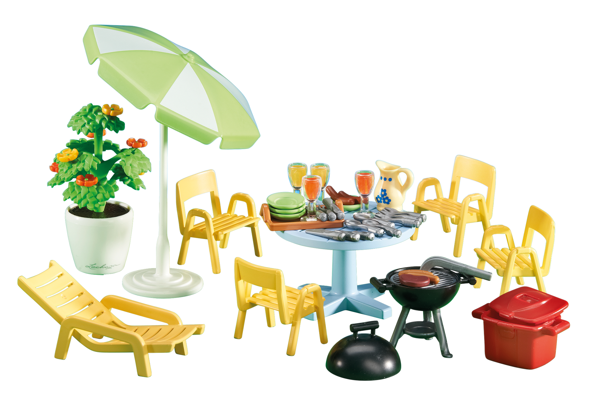 Am nagement pour jardin 6451 playmobil france for Set de table transparent