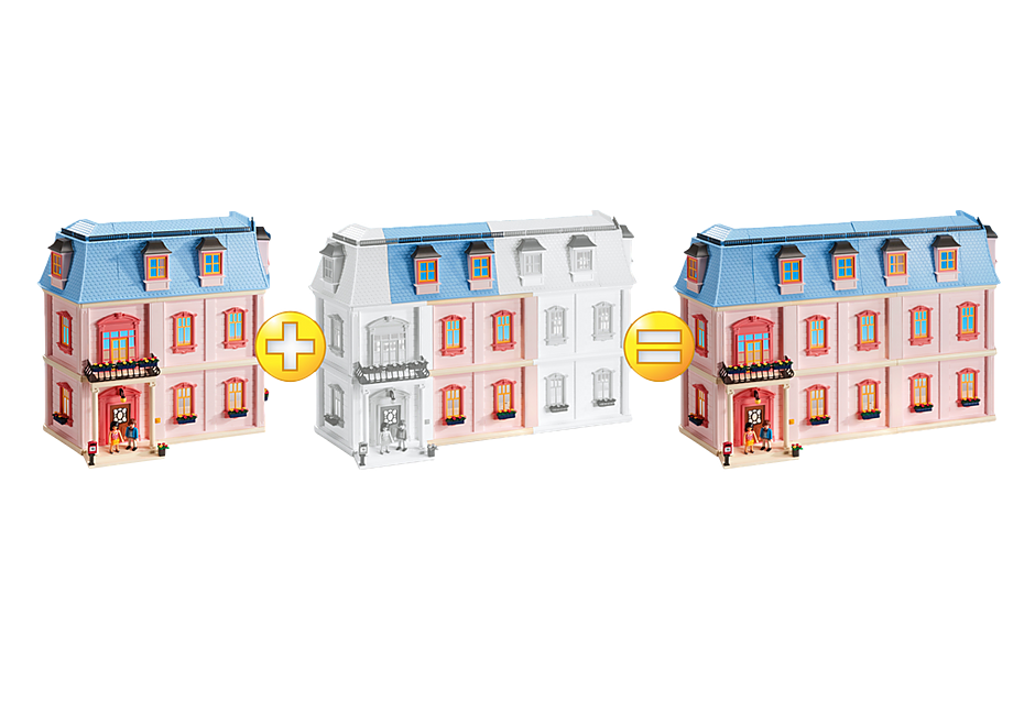6452 Horizontal Extension for Deluxe Dollhouse (5303) detail image 3