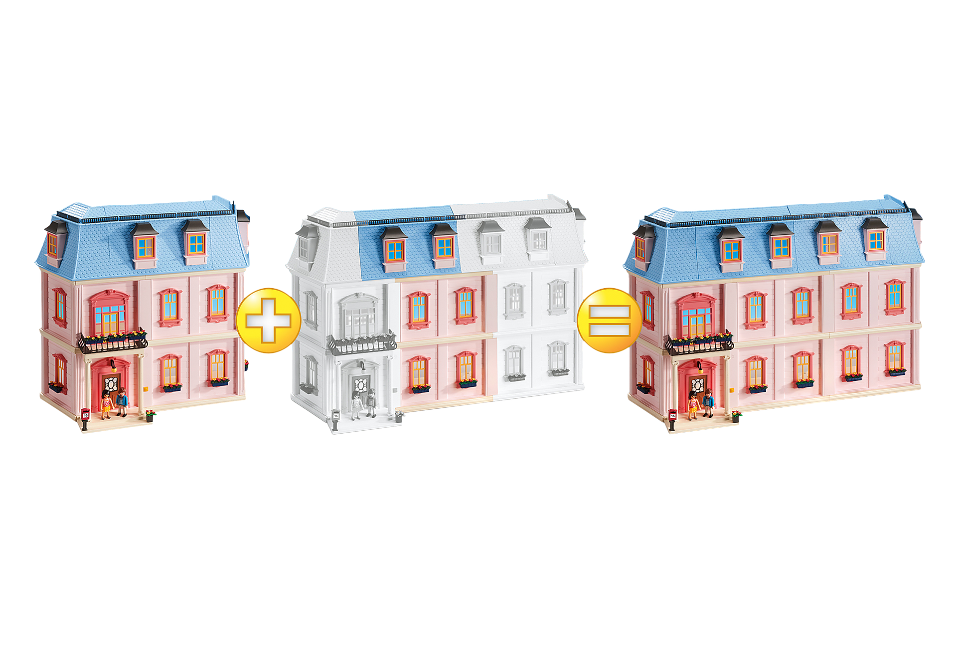6452 Horizontal Extension for Deluxe Dollhouse (5303) zoom image3