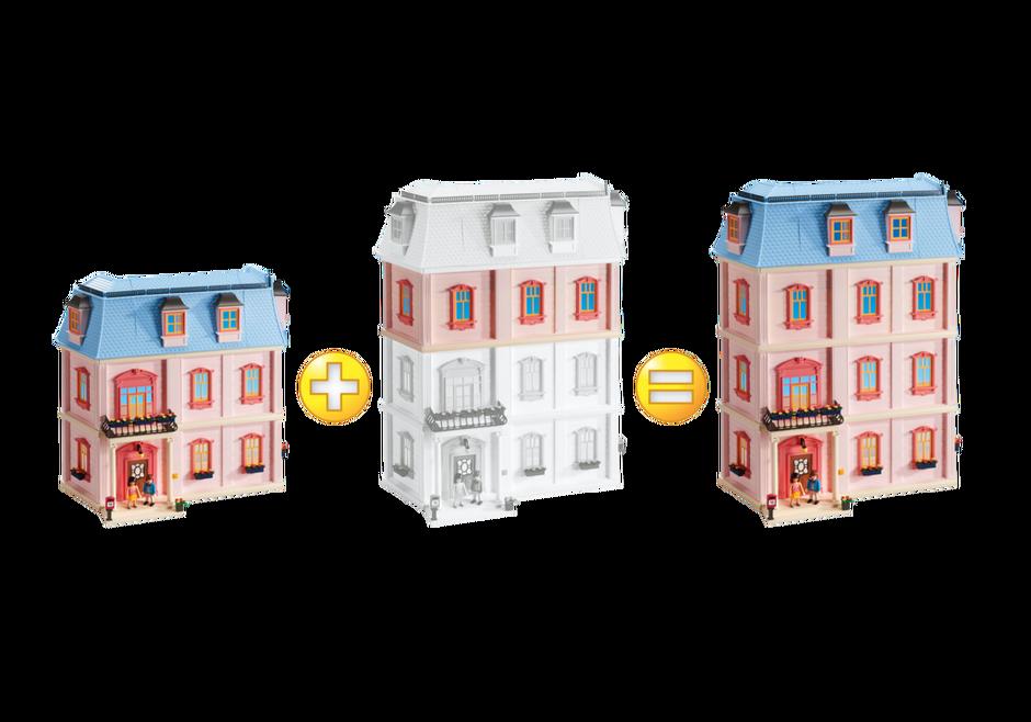 Etage suppl mentaire pour maison traditionnelle r f 5303 for Agrandissement maison moderne playmobil