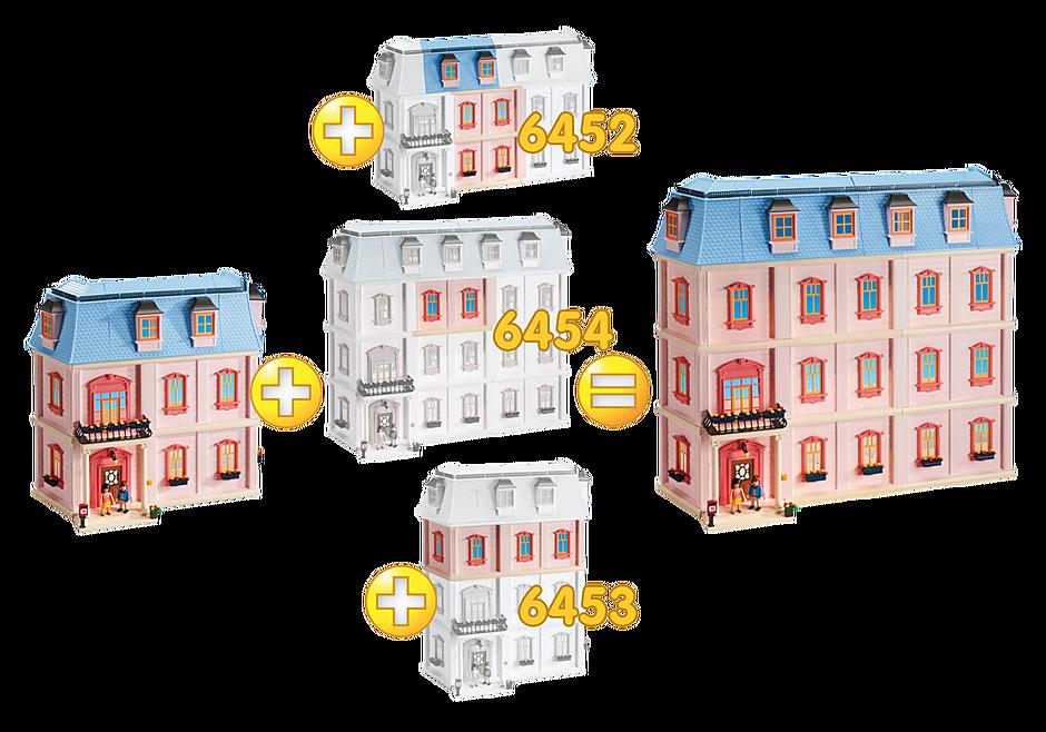 6454 Romantiskt dockhus, utbyggnad C detail image 3