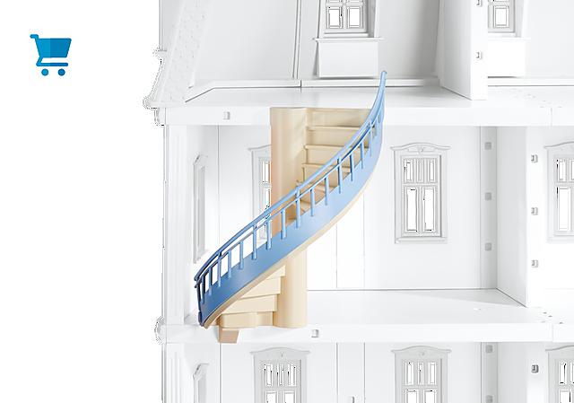 6455_product_detail/Escadas para Casa de Bonecas Romântica (ref. 5303)