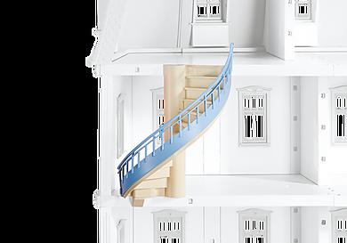 6455_product_detail/Romantiskt dockhus, spiraltrappa