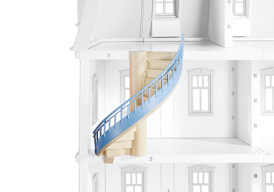 Spiral Staircase for Deluxe Dollhouse (5303) - 6455